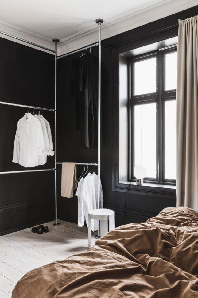 herfstkleuren in slaapkamer