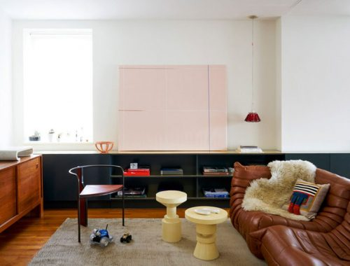 Het mooie vintage appartement van een juweelontwerpster