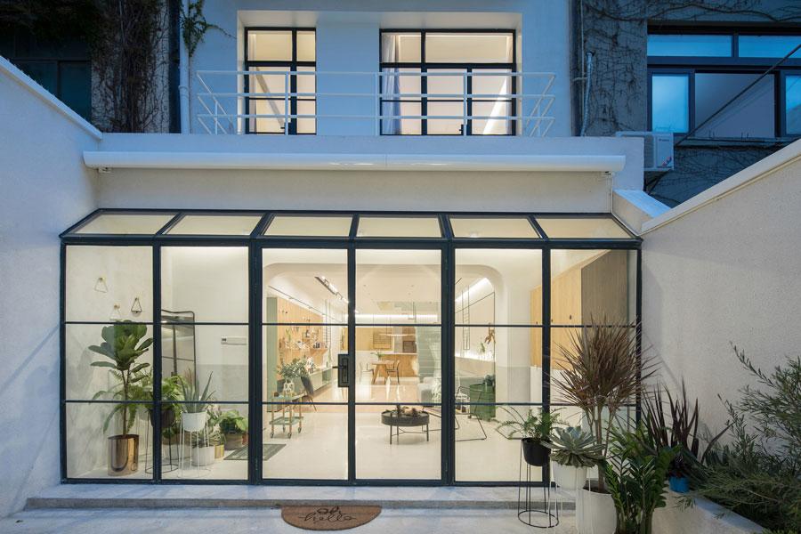 Het RIGI Design vernieuwt een eengezinswoning in Shanghai