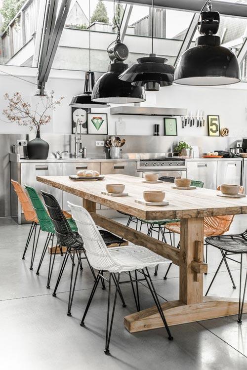 HK LIving rustieke tafel XL