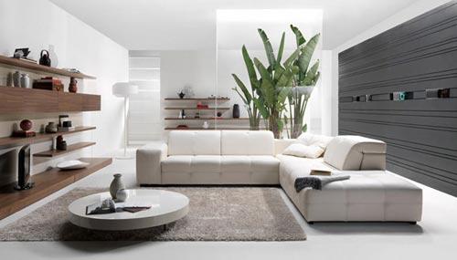 Hoekbank opstelling in de woonkamer | Interieur inrichting