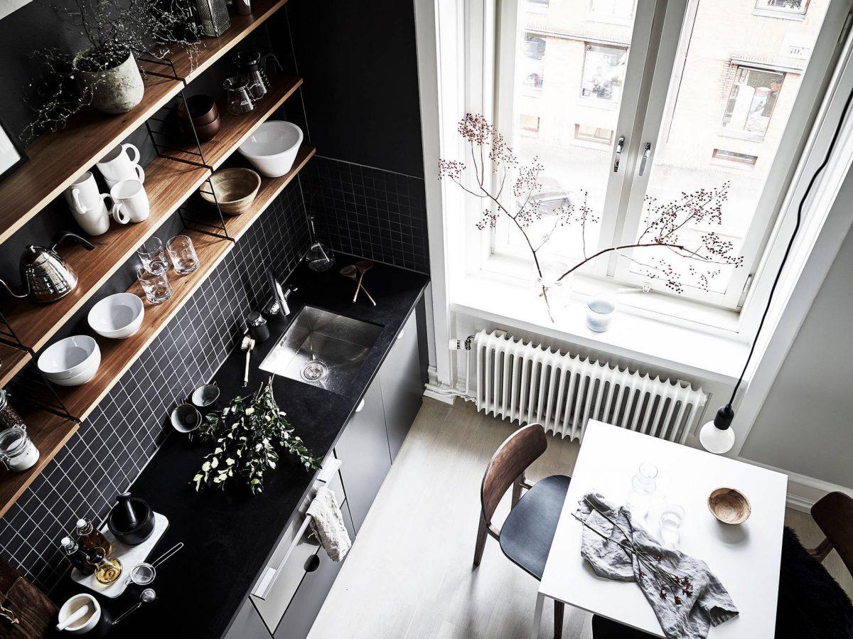 hoog-plafond-keuken