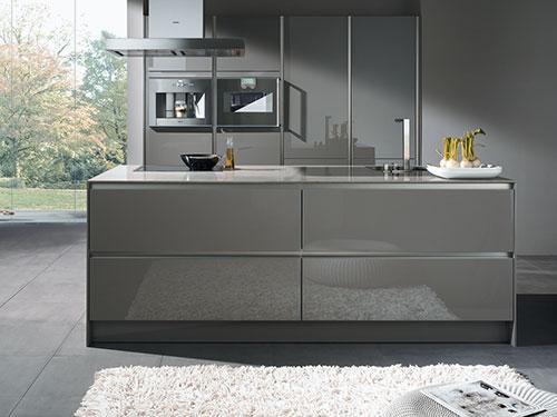 Hoogglans Keuken Ikea : Grijze keuken Interieur inrichting