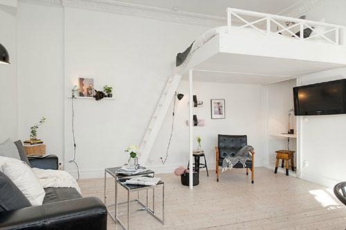 Hoogslaper interieur inrichting - Stapelbed kleine kamer ...