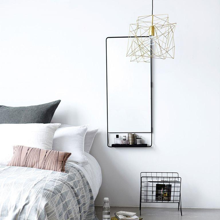 house doctor chic spiegel interieur inrichting. Black Bedroom Furniture Sets. Home Design Ideas