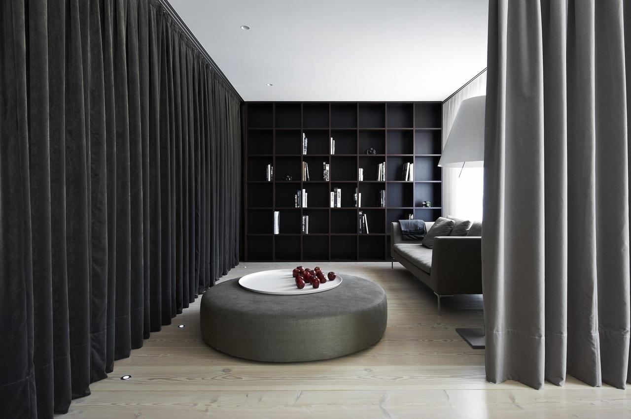 Gordijn Als Scheidingswand : Slaapkamer met gordijn als hoofdrol interieur inrichting