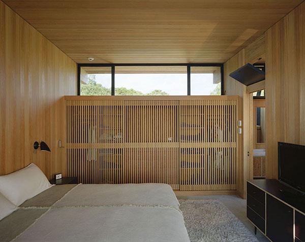 Houten box slaapkamer