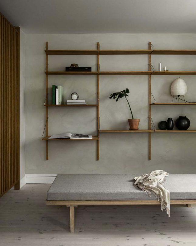 houten elementen combineren interieur