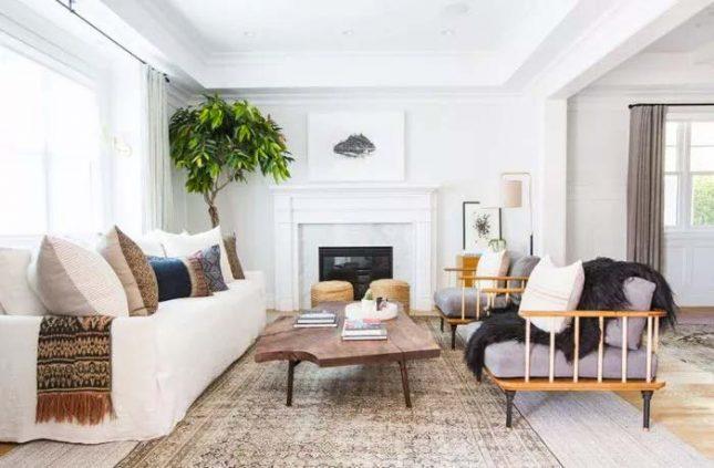 houten elementen combineren interieur woonkamer
