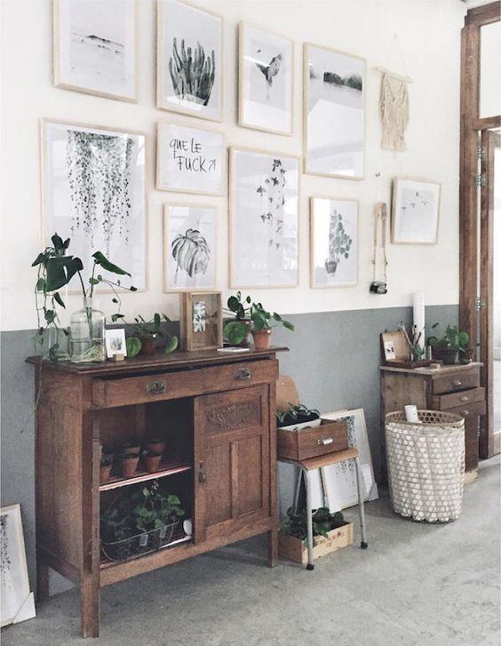 Houten lijsten voor posters en prints