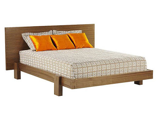 Houten nest bed