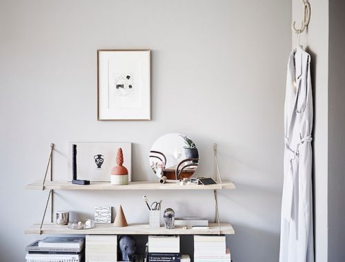 Schilderij Arabisch : Scandinavische woonkamer met Arabisch tintje ...