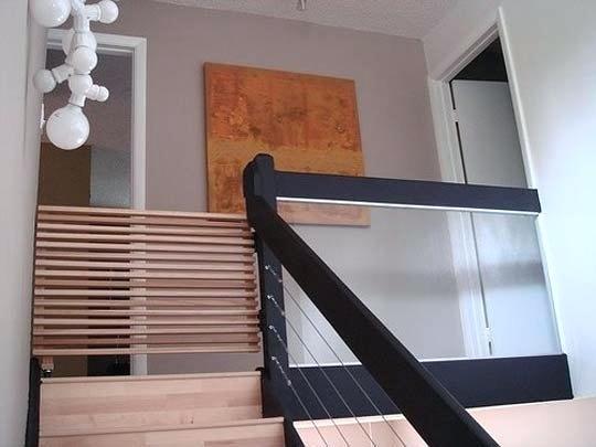 houten traphekje