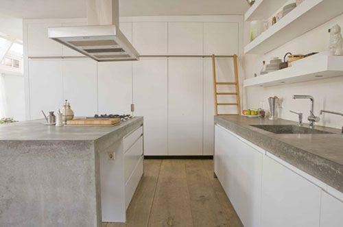 Houten Vloer In Keuken Interieur Inrichting