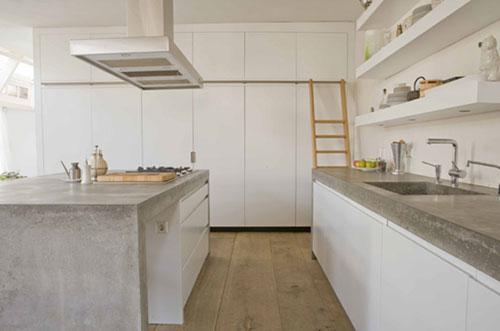 Houten vloer in de keuken | Interieur inrichting