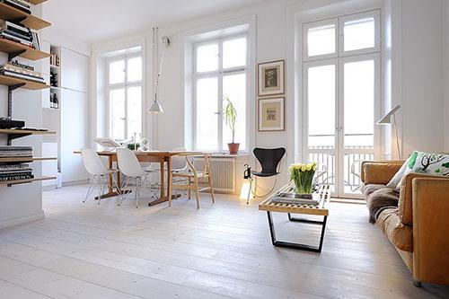 Witte Marmoleum Vloer : Witte vloer moderne keuken van barletti in zwart en wit hoogglans