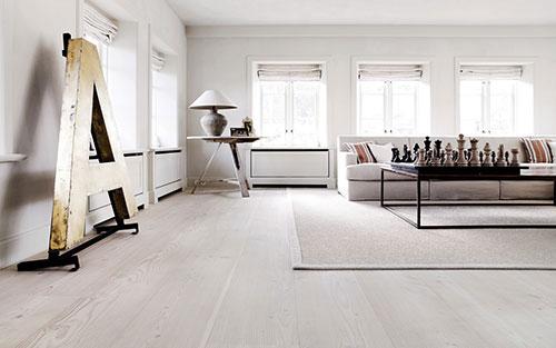 Houten vloeren interieur inrichting