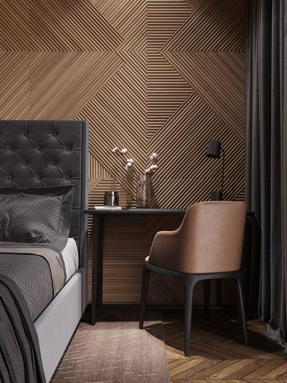 houten-wandbekleding-slaapkamer