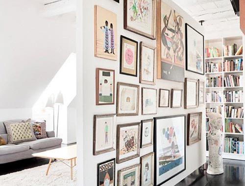 Ideeën muurdecoraties woonkamer