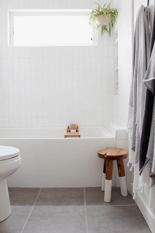 IKEA badkamer - Havern badplankje