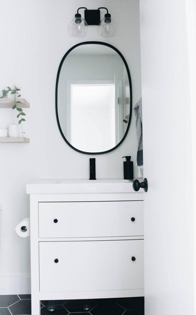 IKEA badkamer - HEMNES badkamermeubel