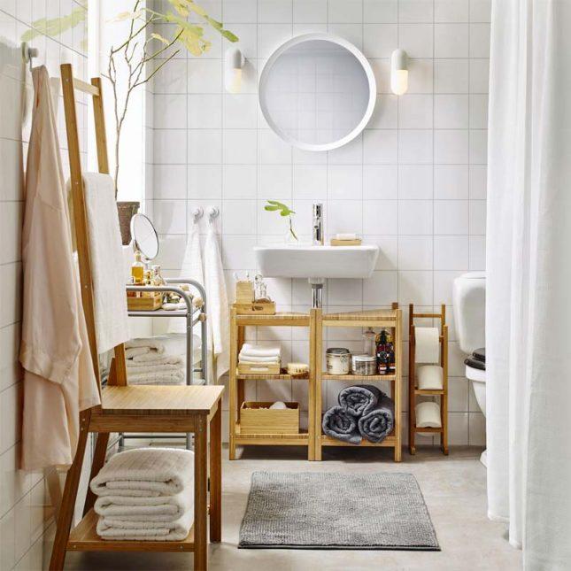 IKEA RÅGRUND badkamerserie