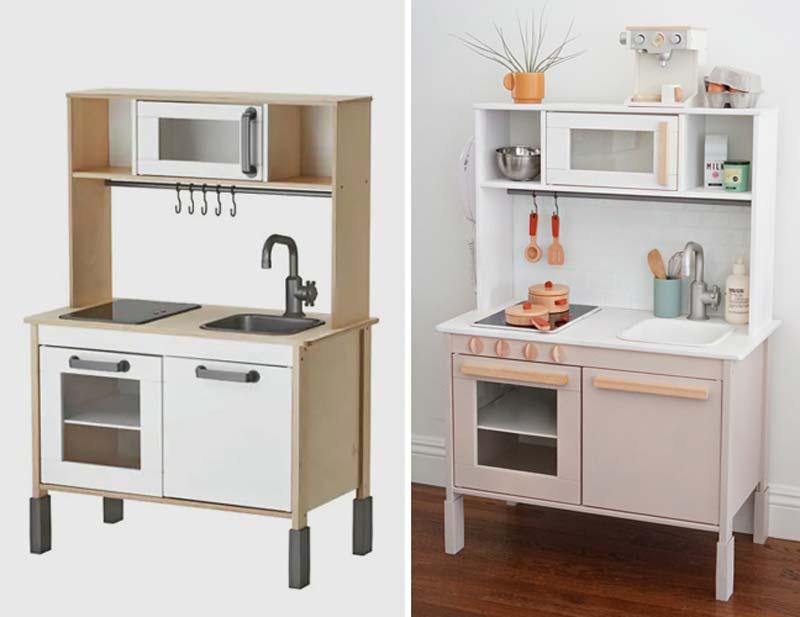 IKEA DUKTIG keuken hack