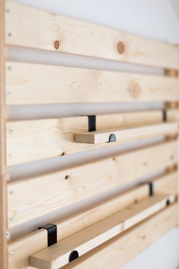 IKEA hack #7 - IKEA Hejne plank x wandplank