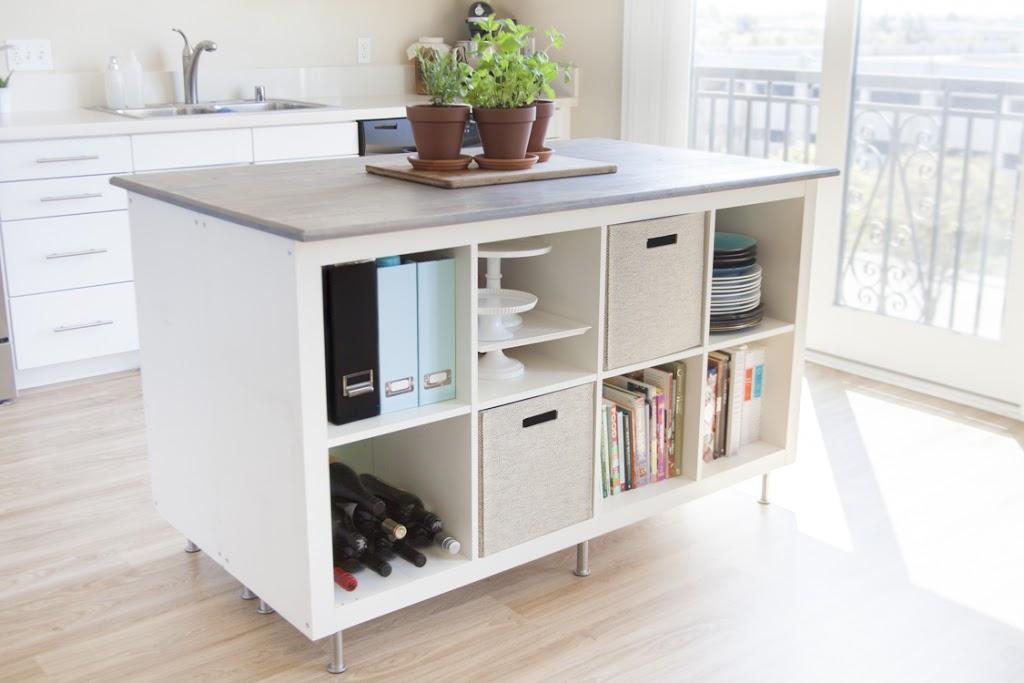 IKEA Kallax x keukeneiland