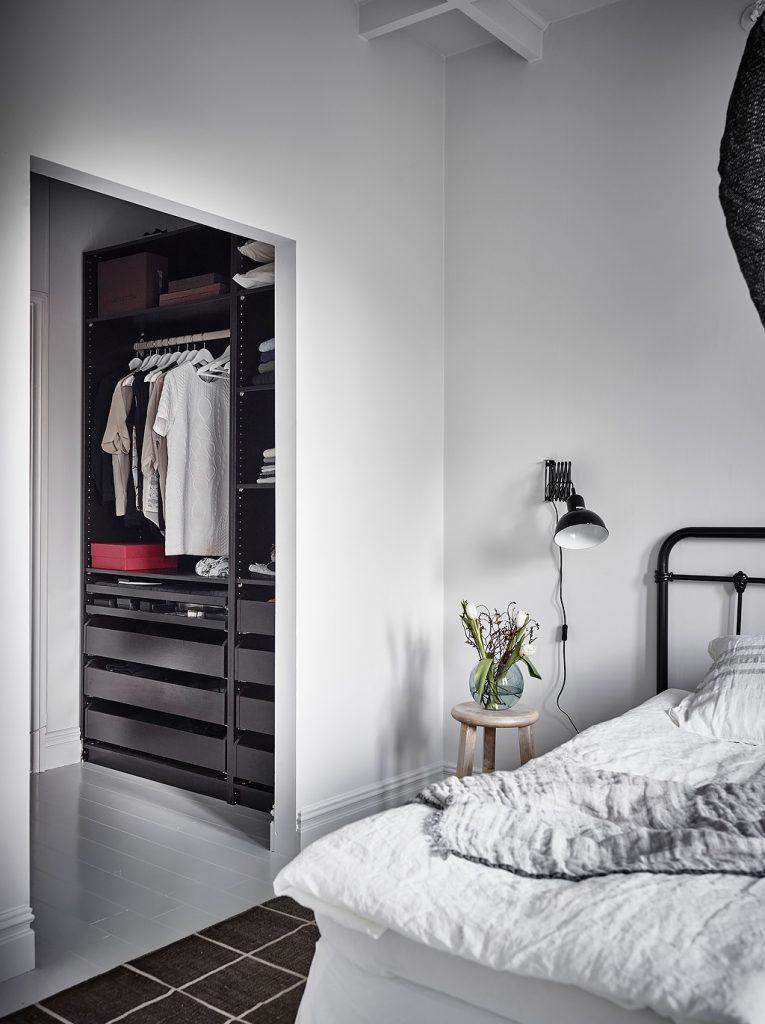 ikea inloopkast in slaapkamer pax
