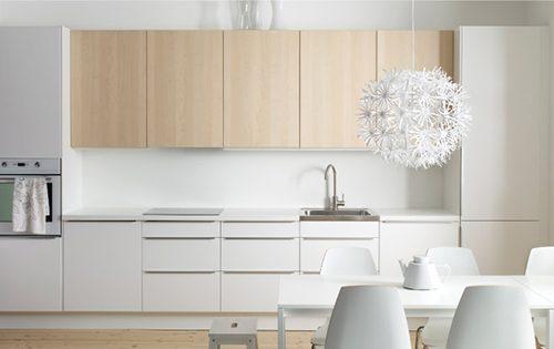 Ikea Keuken Wit En Minimalistisch Interieur Inrichting