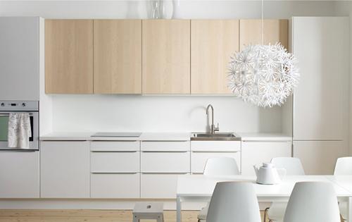 Ikea Keukens Ontwerpen : Ikea keuken wit en minimalistisch interieur inrichting