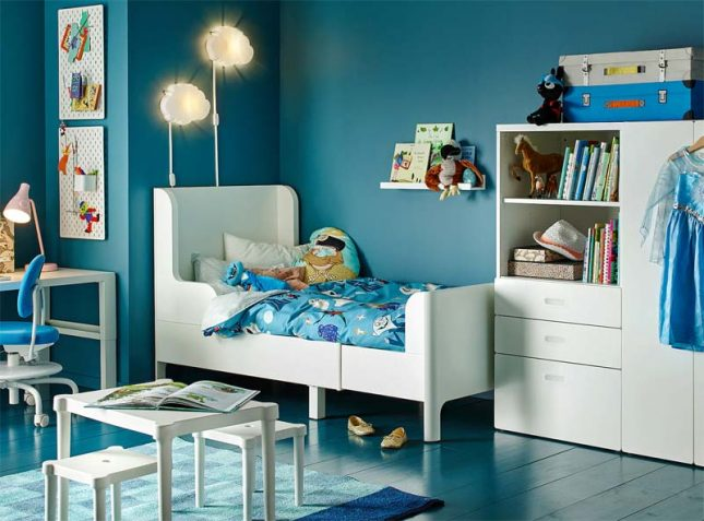 IKEA BUSUNGE bed