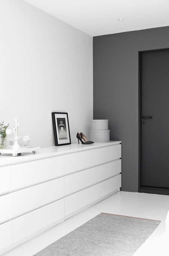IKEA Malm ladekasten wit