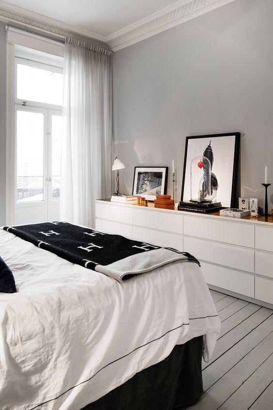 IKEA Malm ladekast in de slaapkamer