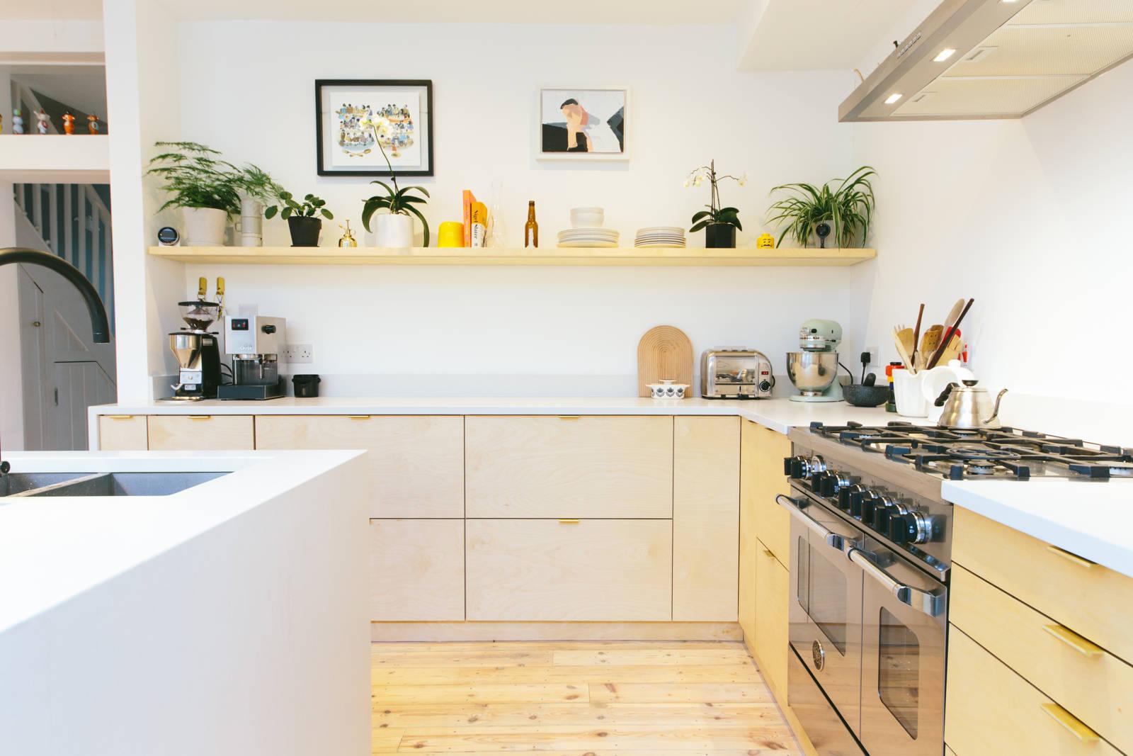 Top IKEA Metod keuken met multiplex deuren   Interieur inrichting TY96