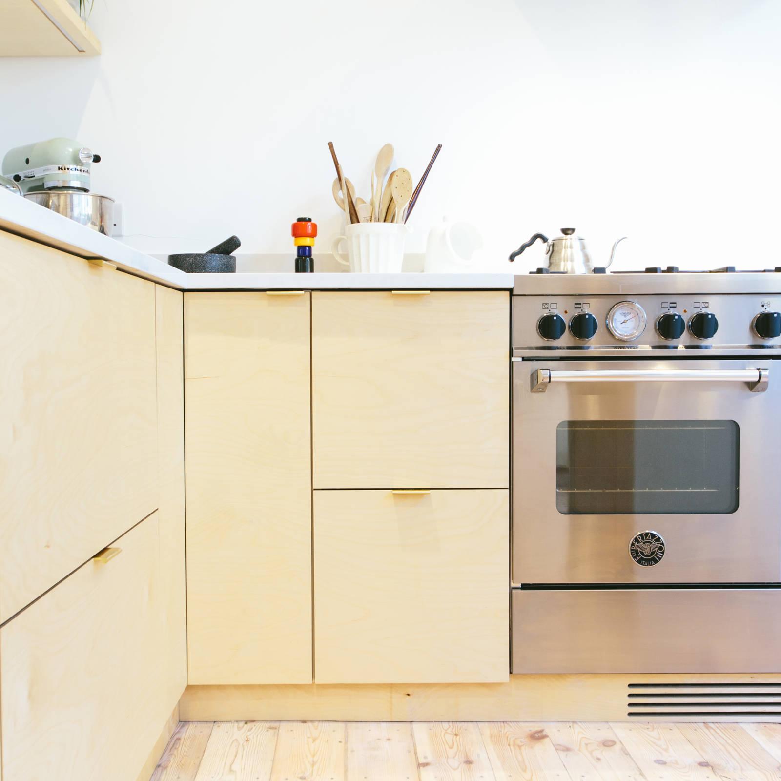 Uitzonderlijk IKEA Metod keuken met multiplex deuren   Interieur inrichting BL02