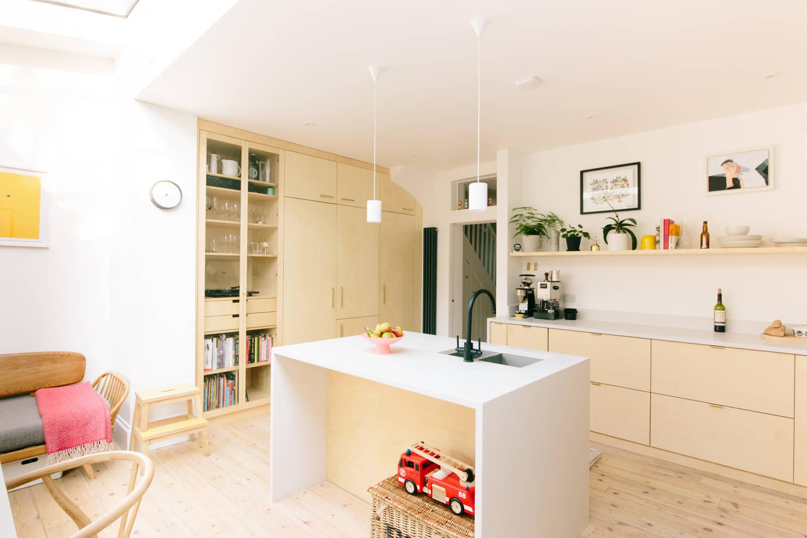 Creatief Formido Keukens : Ikea metod keuken met multiplex deuren interieur inrichting