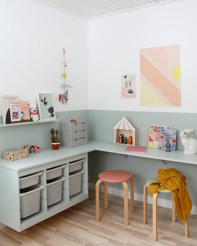 IKEA opbergen TROVAS hack bureau