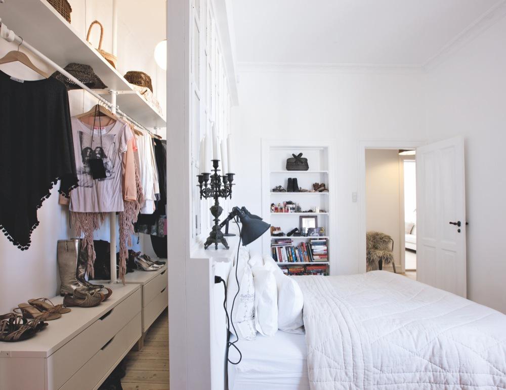 ikea stolmen inloopkast in slaapkamer