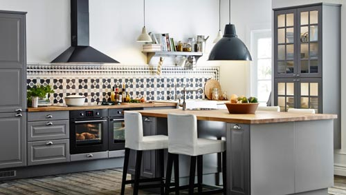 Grijze Keuken Ikea : IKEA Kitchen Island Ideas