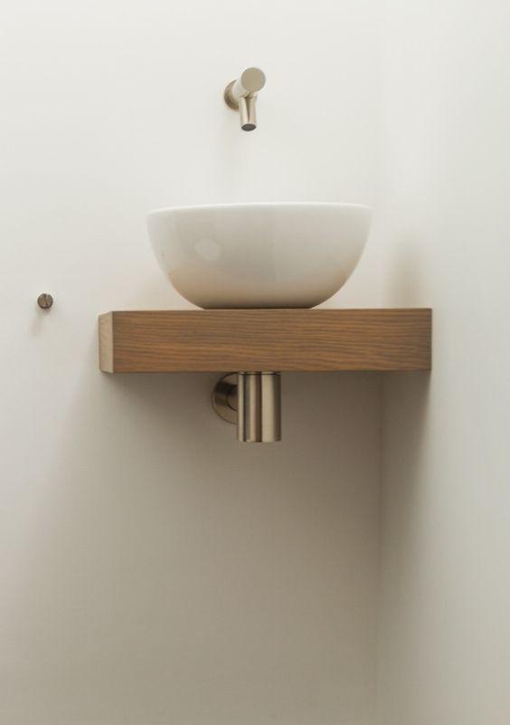 Inbouwkraan toilet