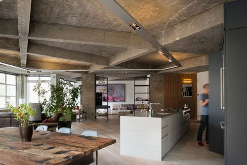 Industrieel loft appartement in Londen