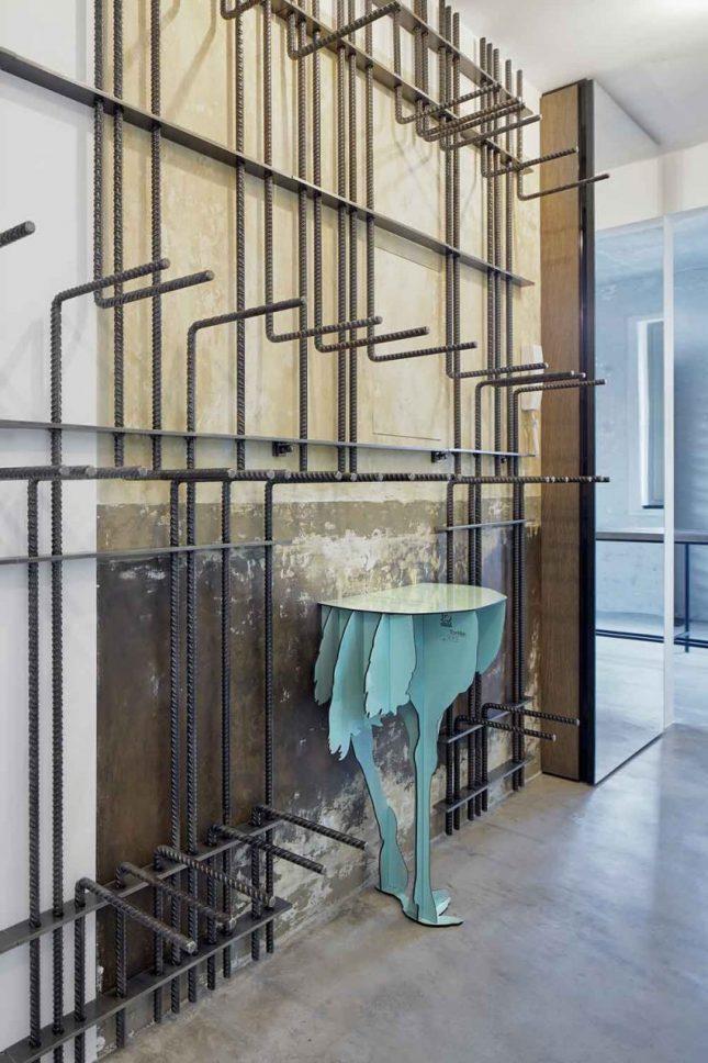 Industrieel warm ingericht loft appartement