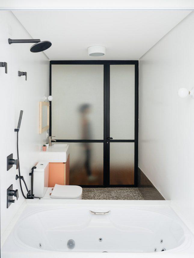 industriele badkamers voorbeelden stalen kozijnen