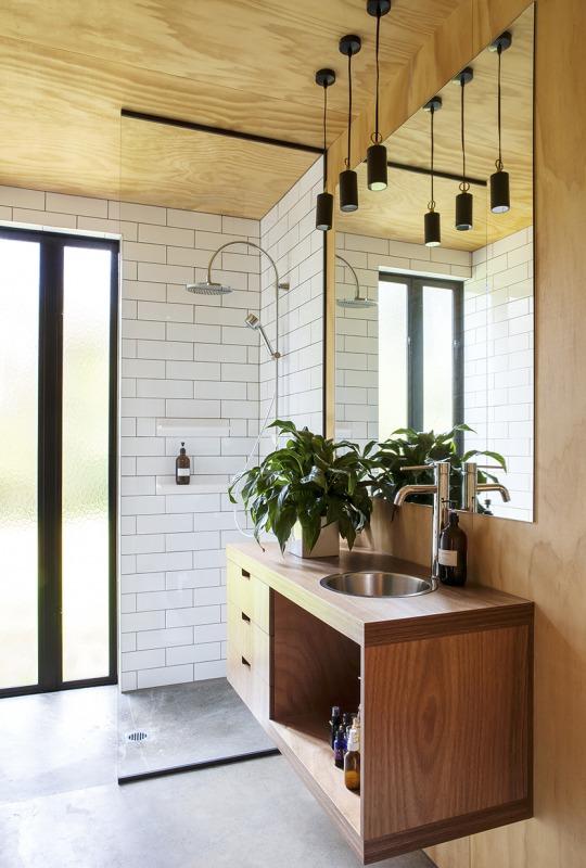 industriele badkamers voorbeelden underlayment