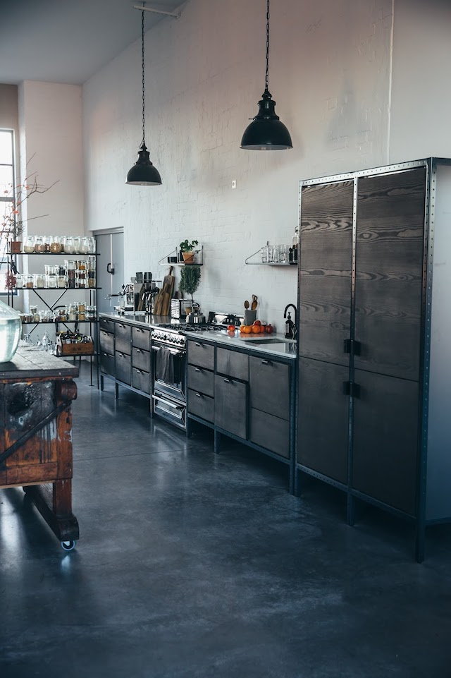 industriele-hanglampen-boven-keuken