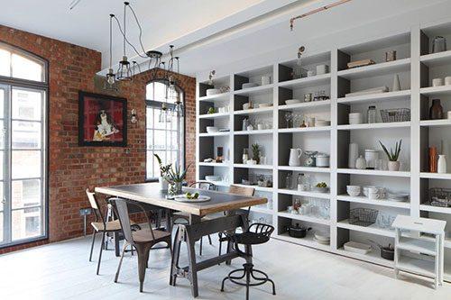 Industriële keuken uit Londen