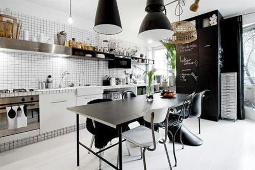 Moderne Keuken Lampen : Industriële lampen in de keuken interieur inrichting