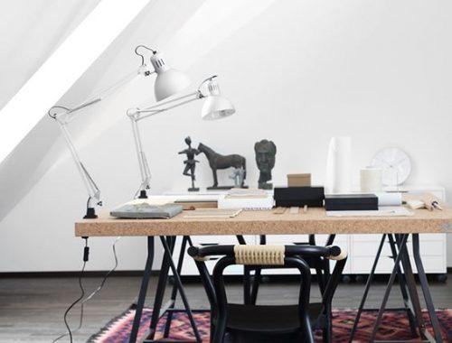 Industriële tafel IKEA